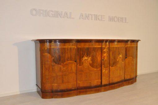 Art Deco, Sideboard, Kommode, Intarsienholz, unrestauriert, individalisierbar, Handarbeit, 1920er, Wohnzimmer, antik, design, Möbel