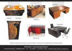 Restauration, Moebel, antike Moebel, vintage Moebel, Schraenke, Kommoden, Sideboards, Buffet, Restaurierung, Art Deco, Biedermeier