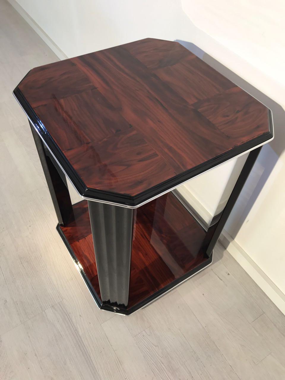 mahagoni art deco beistelltisch original antike m bel. Black Bedroom Furniture Sets. Home Design Ideas