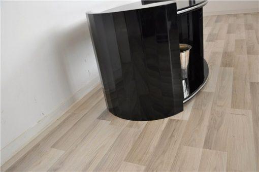 schwarz, hochglanz, couchtische, art deco, toller fuß, wohnzimmer, tisch, lack, Luxus, Furnier, Chromlinien, klavierlack,