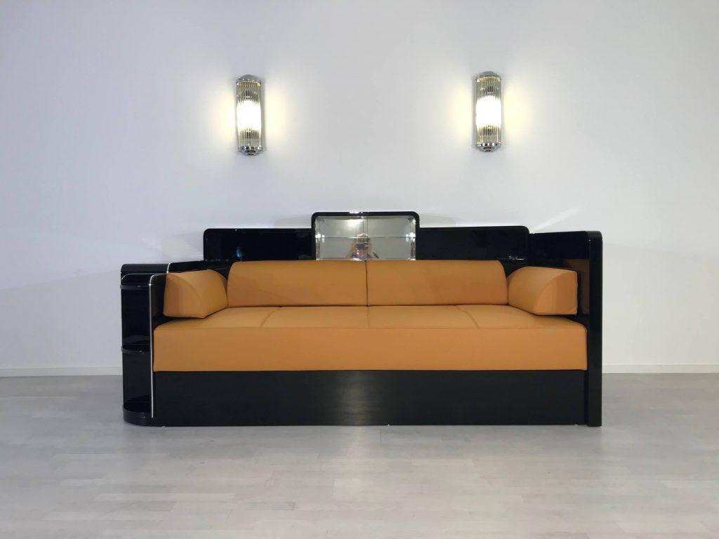 Ein Art Deco Daybed für ein Berliner Hotel - Original Antike Möbel