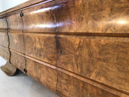 Art Deco, Sideboard, Moebel, Design, Innendesign, Wurzelholt, Walnuss, Furnier, Original, Antik, Frankreich, Luxus, Qualitaet