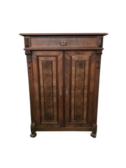 walnussholz, walnuss, holz, kommode, braun, antik, unrestauriert, wohnzimmer, elegant, design, furnier, muster, luxus, freiraum