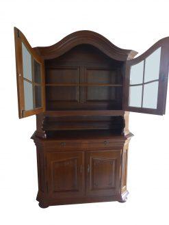 Eiche, Hochglanz, Tisch, Antik, Stuhl, Stühle, Vitrine, Vitrinenschrank, restauriert, massiv, Luxus, Furnier, Esszimmer, Möbel
