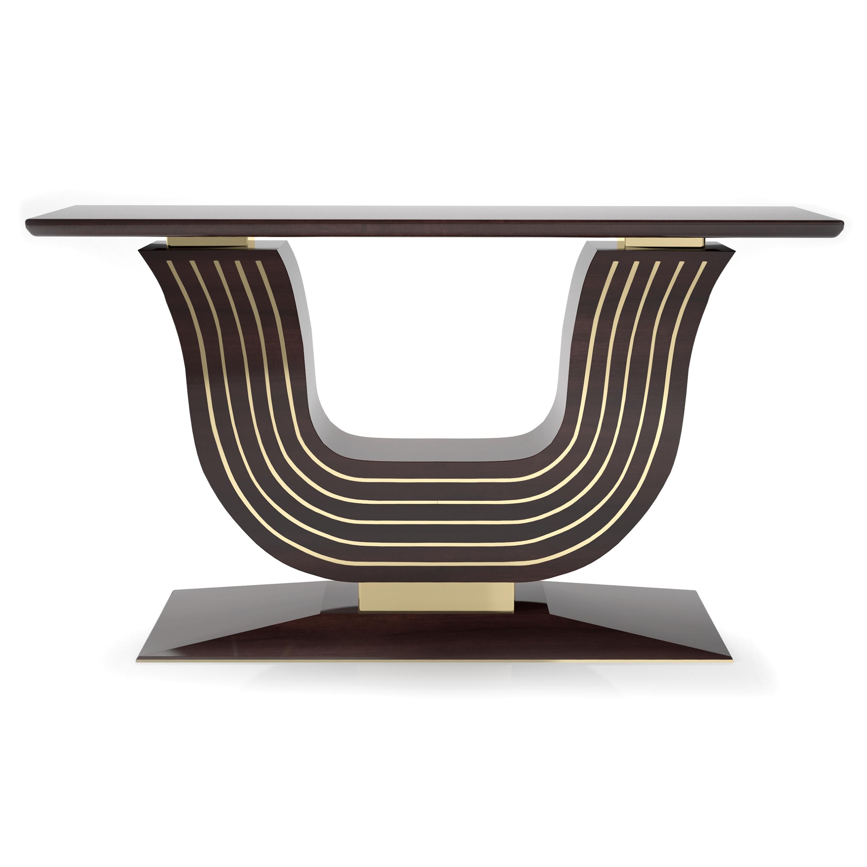 Walnuss Art Deco Style Konsolen Tisch Original Antike Möbel