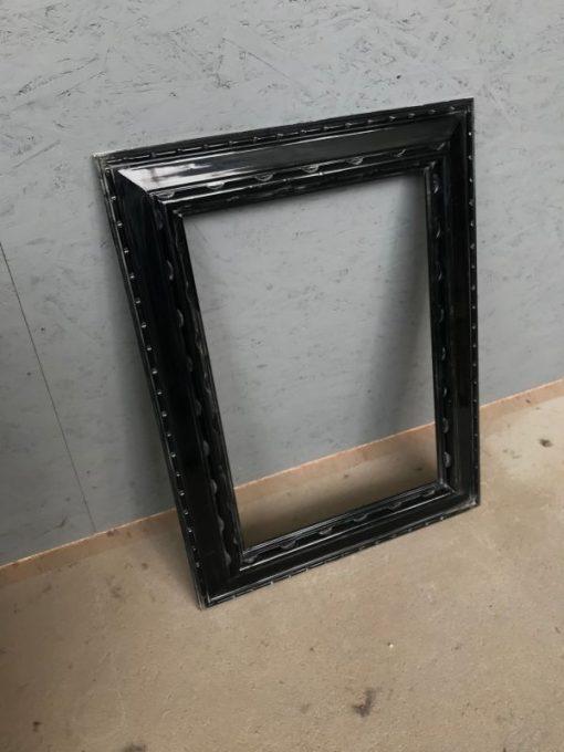 rahmen, unrestauriert, schwarz, spiegel, furnier, antik, wohnzimmer, elegant, muster, luxus, klein, stabil, muster, holz