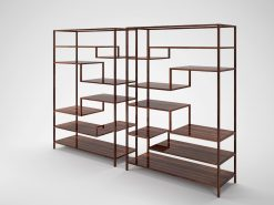 paerchen makassar design regale, Holz, Innendesign, Stauraum, Wohnzimmer, elegant, Aufbewahrung, Edelholz, Art Deco, Maserung