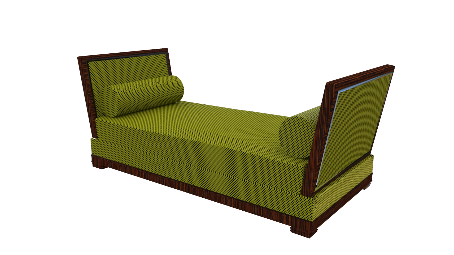 art deco design zweisitzer sofa original antike m bel. Black Bedroom Furniture Sets. Home Design Ideas