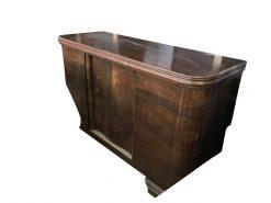 sideboard, unrestauriert, braun, toller Fuß, furnier, antik, wohnzimmer, elegant, muster, luxus, groß, stabil, muster, maserung
