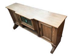 lowboard, unrestauriert, braun, sideboard, furnier, antik, wohnzimmer, elegant, muster, luxus, klein, stabil, muster, holz