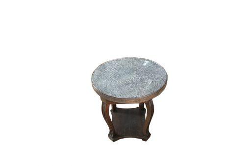 tisch, unrestauriert, braun, toller Fuß, antik, wohnzimmer, elegant, muster, luxus, groß, stabil, muster, metall, metallplatte