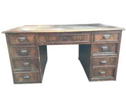 schreibtisch, unrestauriert, braun, toller Fuß, furnier, antik, wohnzimmer, elegant, muster, luxus, groß, stabil, muster