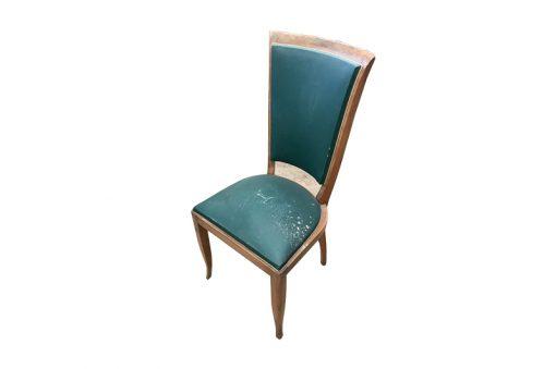 stuhl, unrestauriert, braun, toller Fuß, furnier, antik, wohnzimmer, elegant, muster, luxus, groß, stabil, muster, Art Deco