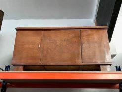 sideboard, unrestauriert, braun, toller Fuß, furnier, antik, wohnzimmer, elegant, muster, luxus, groß, stabil, muster, schön