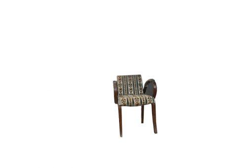 stuhl, unrestauriert, braun, toller Fuß, furnier, antik, wohnzimmer, elegant, muster, luxus, groß, stabil, muster, gepolstert