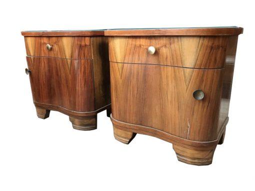 kommode, unrestauriert, braun, nachttisch, Möbel, antik, Wohnzimmer, elegant, Muster, Luxus, groß, stabil, pärchen, nachttische