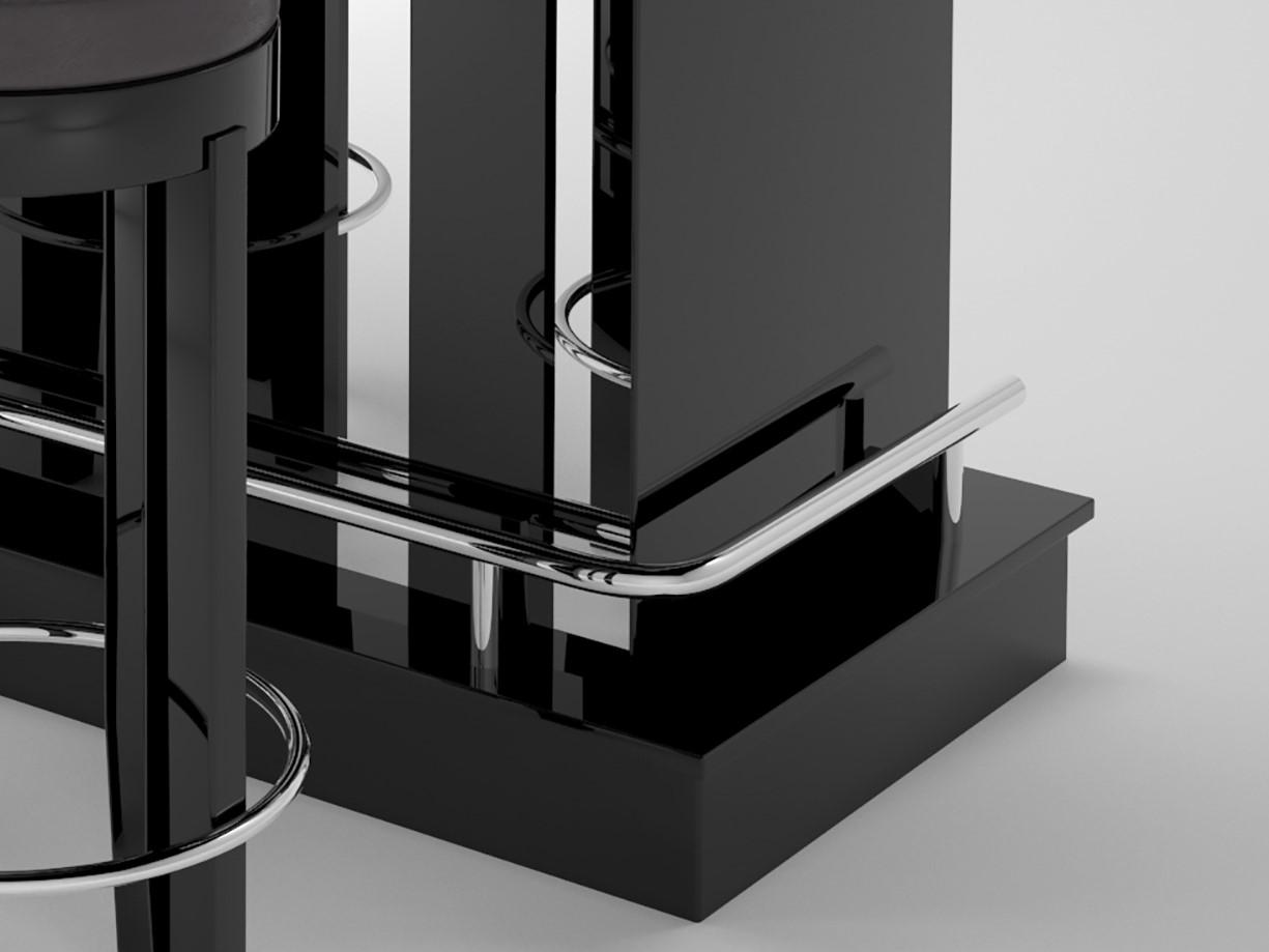 art deco design bar mit klavierlack original antike m bel. Black Bedroom Furniture Sets. Home Design Ideas