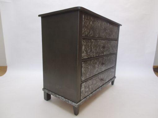 1830er Biedermeier Kommode aus Birkenholz, Original Antike Moebel, Biedermeier Kommode, Design Möbel, Kommoden, Luxus, Antiquitäten