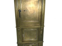 1940er Tresor - Restauriert in Gold und Rot, Tresore, Safes, Design, Möbel, Luxusmöbel, Designmöbel, Innendesign, Restauration