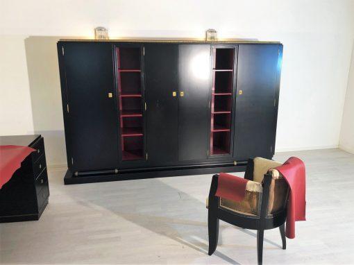 Art Deco Schreibtisch & Büro Schrank von Christian Krass Frankreich 1930er, Design Möbel, Art Deco Möbel, Luxus Büro Möbel, Art Deco Schreibtisch, Art Deco Büro