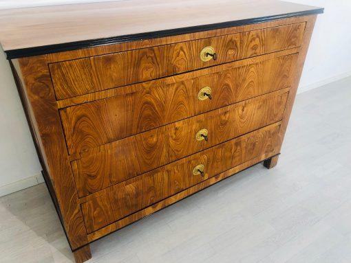 Biedermeier Kommode Eschenholz 1850er, Biedermeier Kommode, Antike Biedermeier Möbel, Luxus Antiquitäten, Designmöbel, Innendesign, Antiquitäten