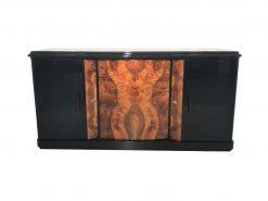 Walnuss Wurzelholz Sideboard aus Frankreich 1930er Jahre, Art deco Möbel, Design Moebel, Innendesign, Wurzelholz, Buffet, Maserung