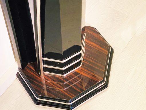 Moderne Art Deco Stil Konsole mit Makassar-Holz