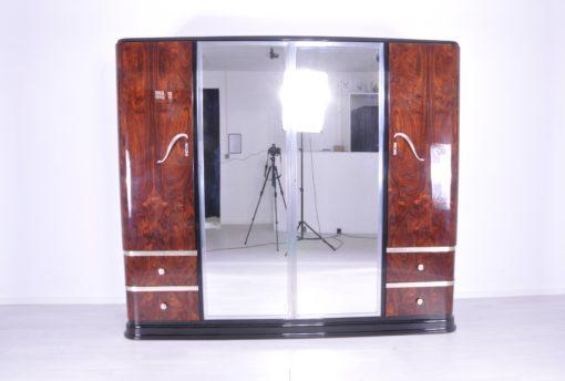Art Deco Palisander-Holz Schrank aus den 1920er Jahren, Vitrine, Antiquitaeten, Art Deco Moebel, Design Moebel, Edelholz, Schrank