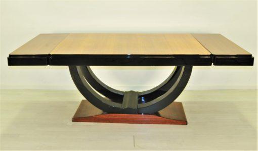 Art Deco Palisander Design Esstisch 1930er Jahre, Esstisch, Antiker Esstisch, Art Deco Esstisch, Luxus Möbel, Esszimmer Tisch, Palisander Holz
