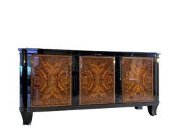 Französisches Art Deco Sideboard Nussbaum 1930er Jahre, Art Deco Sideboard, Art Deco Moebel, Design Moebel, Innendesign, Walnuss-Furnier